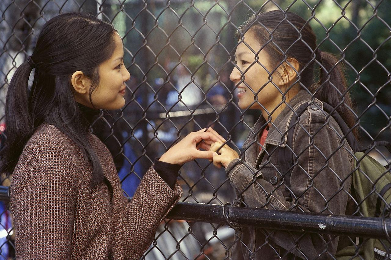 """<p>These days, director Alice Wu is probably best known for her sweet Netflix coming-of-age film, The Half of It. Nearly 20 years before that, though, she directed Saving Face, a defining entry in the lesbian film canon. The first Hollywood movie to centre on Chinese-Americans since The Joy Luck Club some 11 years before it, Saving Face tells the story of a closeted Chinese-American woman falling in love for the first time and struggling to reconcile the relationship with her and her girlfriend's traditional (read: homophobic), close-knit New York City community.</p><p><a class=""""body-btn-link"""" href=""""https://www.amazon.co.uk/Saving-Face-Michelle-Krusiec/dp/B07GX7XCHN?tag=hearstuk-yahoo-21&ascsubtag=%5Bartid%7C1927.g.32808268%5Bsrc%7Cyahoo-uk"""" target=""""_blank"""">WATCH NOW</a></p>"""