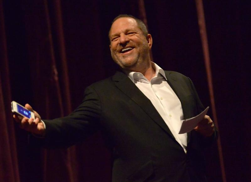 Harvey Weinstein has had a long, strange relationship with the media. (Charley Gallay via Getty Images)