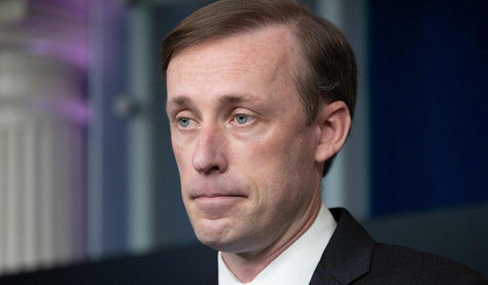 National security adviser Jake Sullivan at the White House last month. Photo: AFP