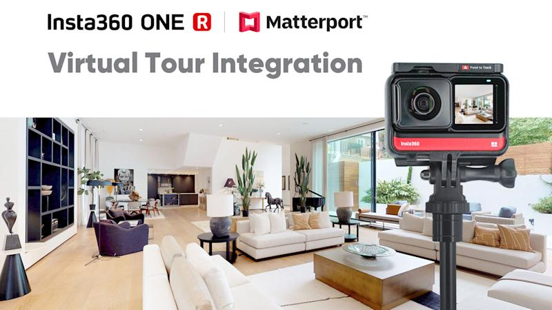 Insta360 One R Matterport integration