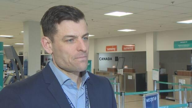 Doug Newson, CEO of the Charlottetown Airport Authority, said he is now expecting fewer summer flights than he was anticipating earlier in the month. (CBC - image credit)