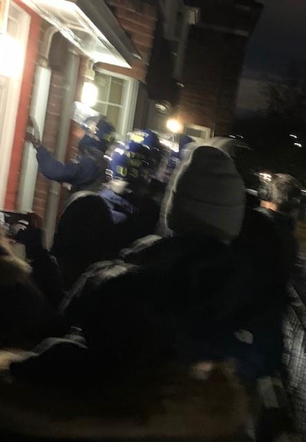The Met Police carried out dawn raids at addresses across east London (Picture: Met Police)
