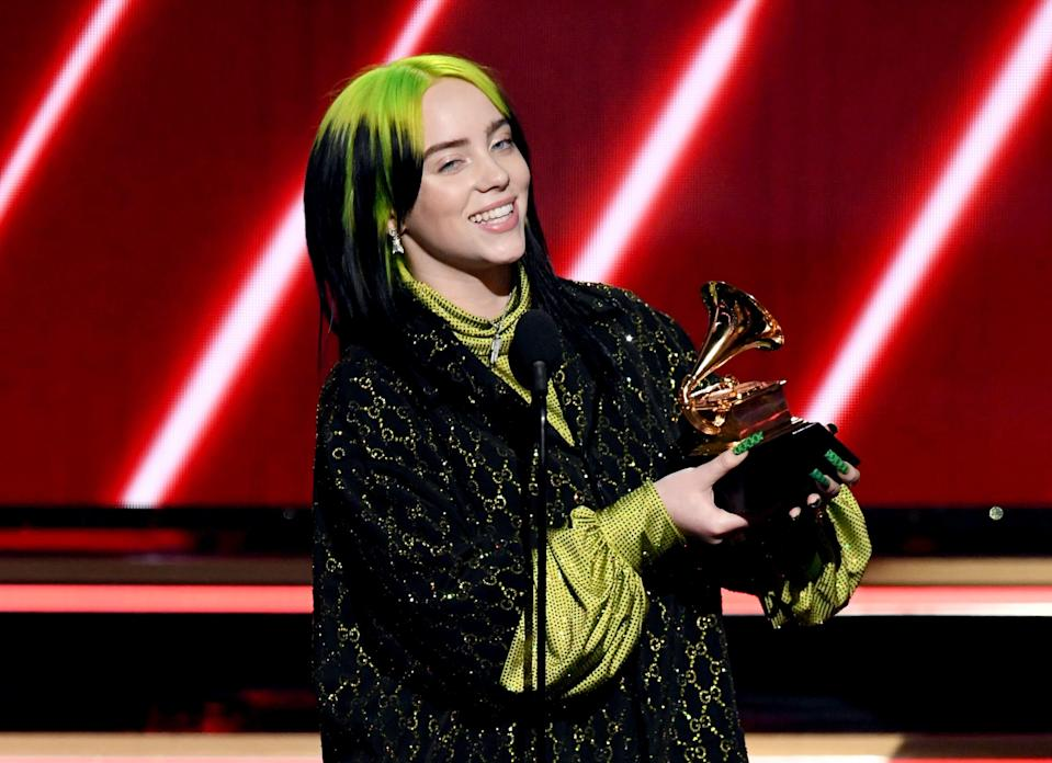 Billie Eilish appears to respond to body-shaming  (Getty Images for The Recording A)