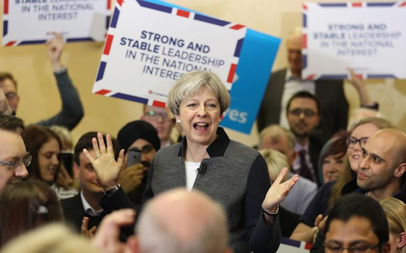 Theresa May failed three times to rule out scrapping the tax lock. - PA