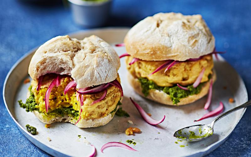 Vegetarians will love this potato burger that's big on flavour -
