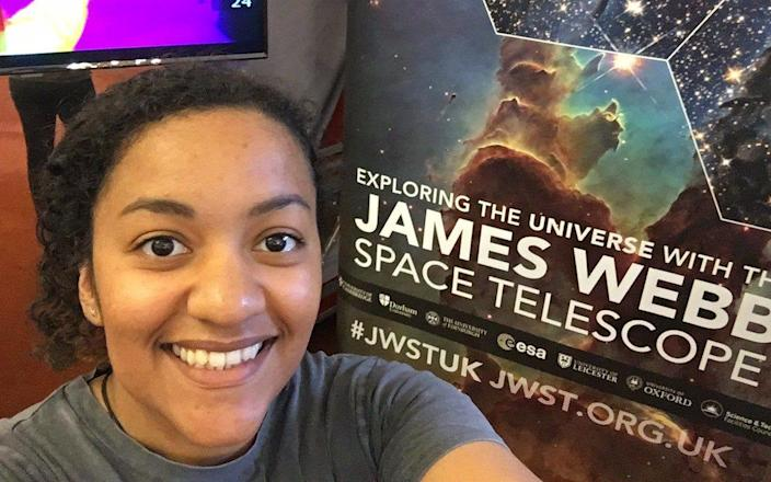 Naomi Rowe-Gurney, in the final year of her PhD in Planetary Science at the University of Leicester, is setting her sights on a trip to space