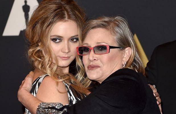 Billie Lourd Pays Tribute to Mom Carrie Fisher on 3-Year Anniversary of Her Death (Video)