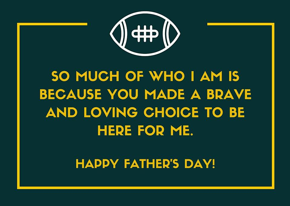 Father's Day Message for Father-Like Figure