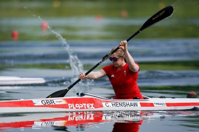 Charlotte Henshaw switched from swimming to canoeing following Rio 2016