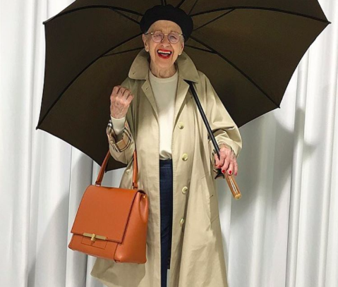 Ernestine Stollberg has been taking Instagram by storm [Photo: Instagram/park_wein]