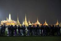 Pro-democracy demonstrators protest in Bangkok