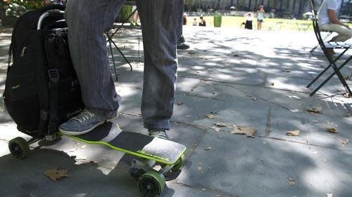 Movpak Electric Skateboard Powers Up Your Commute
