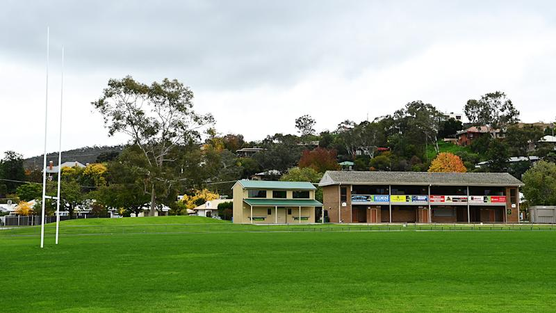 Greenfield Park, pictured here in Albury where the Melbourne Storm have relocated.