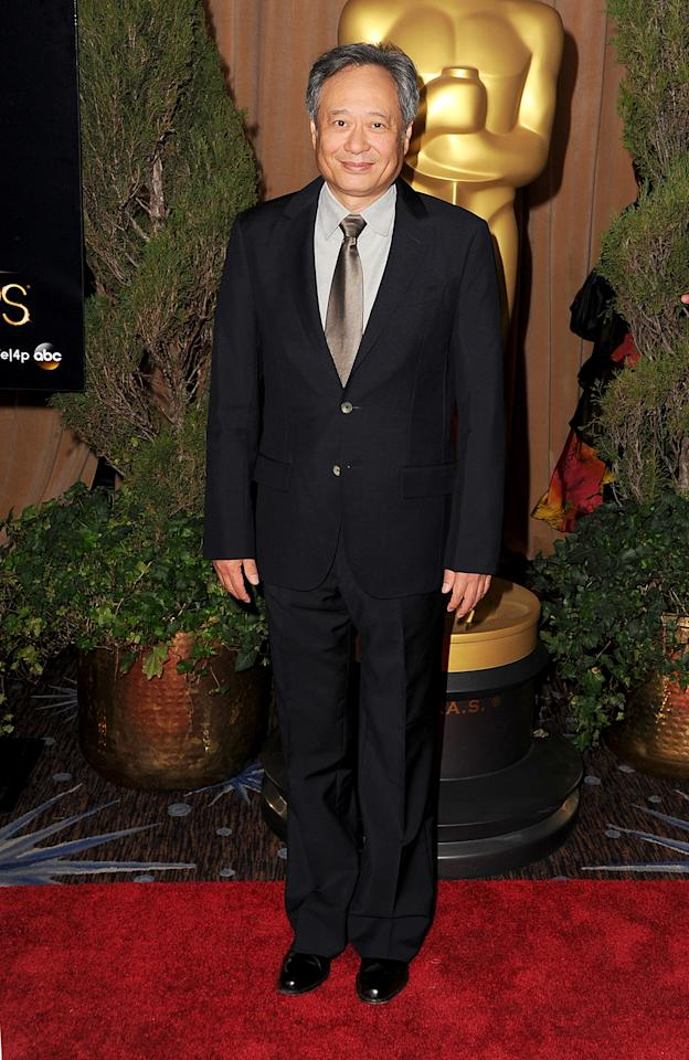 Ang Lee attends the 85th Academy Awards Nominees Luncheon at The Beverly Hilton Hotel on February 4, 2013 in Beverly Hills, California.  (Photo by Steve Granitz/WireImage)