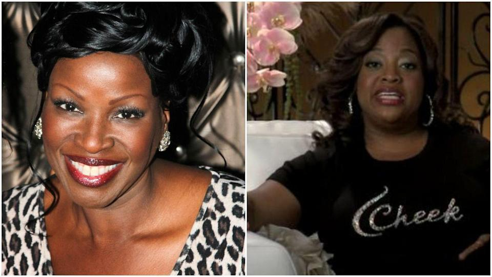 """<p>Sherri Shepherd is completely ICONIC as Tracy's wife, Angie, in<em> 30 Rock</em>, and I could literally <a href=""""https://www.youtube.com/watch?v=rcYMGs-6Vqg"""" rel=""""nofollow noopener"""" target=""""_blank"""" data-ylk=""""slk:watch her say the word """"ham"""" for hours"""" class=""""link rapid-noclick-resp"""">watch her say the word """"ham"""" for hours</a>. But the role originally went to Sharon Wilkins, who showed up in just one episode before being replaced.</p>"""
