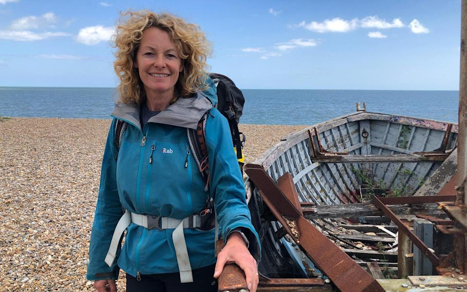 Kate Humble is presenting a new programme on Britain's Coast for Channel 5 - Channel 5