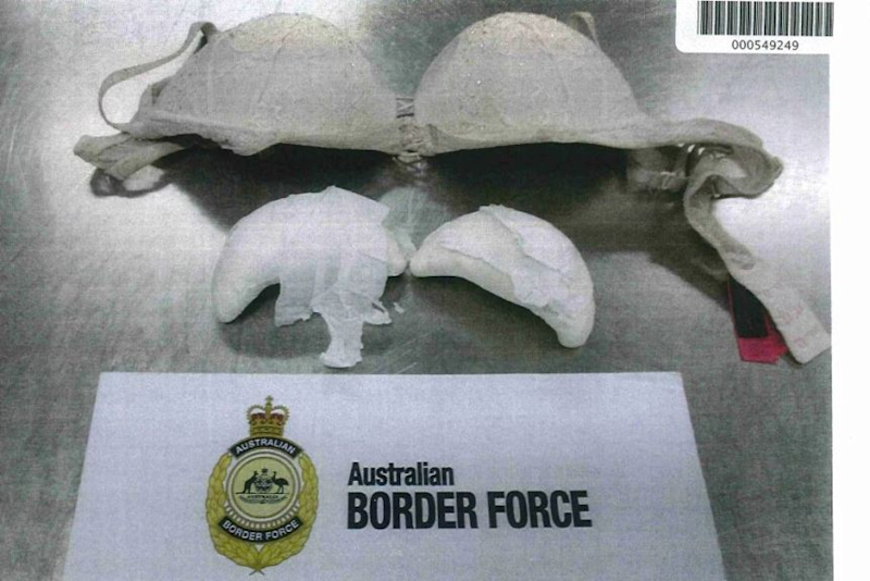 A Malaysian-based Malindo Air crew member was busted smuggling heroin into Australia. Source: ABC