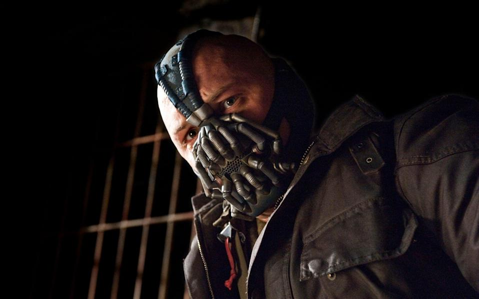 Is Ryan Cohen the role Tom Hardy was born to play? Here he is as Bane in The Dark Knight Rises - Ron Phillips/AP/Warner Bros Pictures