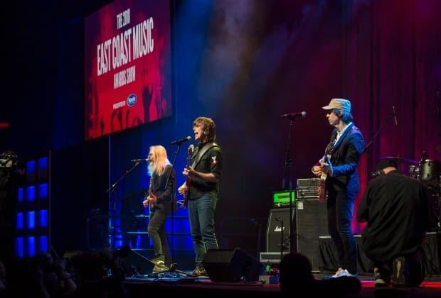Sloan performs at the 2018 East Coast Music Awards gala in Halifax on May 3, 2018. Next year's ECMAs will be held in Fredericton on May 4-8. (Darren Calabrese/The Canadian Press - image credit)