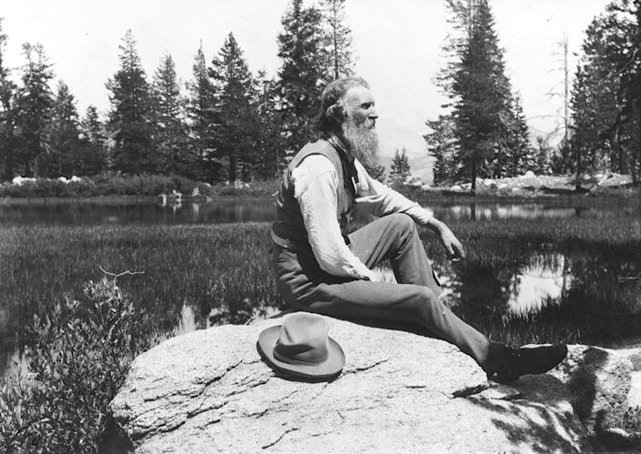 John Muir, a Scottish-American naturalist, writer and pioneer of conservation. (Photo12/Universal Images Group via Getty Images)