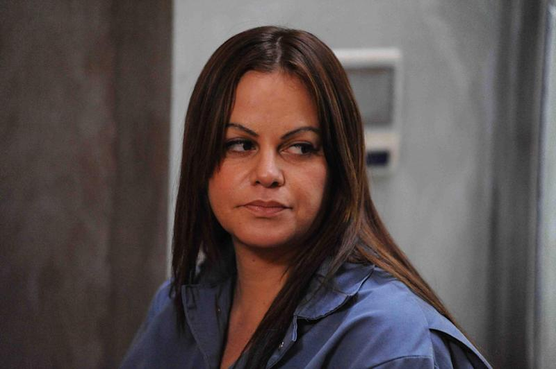 """This publicity photo provided by Pantelion Films shows Jenni Rivera as Maria Tonorio in a scene from the film, """"Filly Brown."""" The film releases on April 19, 2013. (AP Photo/Pantelion Films, John Castillo)"""
