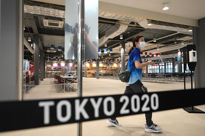 The prospect of athletes testing positive in the Olympic Village in Tokyo is looming large.