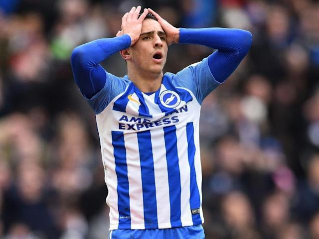 Chris Hughton hopes Anthony Knockaert will take his frustration out on Crystal Palace
