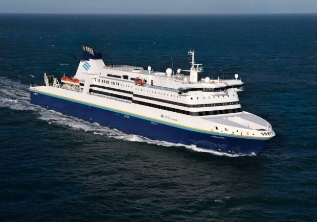 The Argentia to North Sydney route is delayed until at least July 4. (Marine Atlantic - image credit)