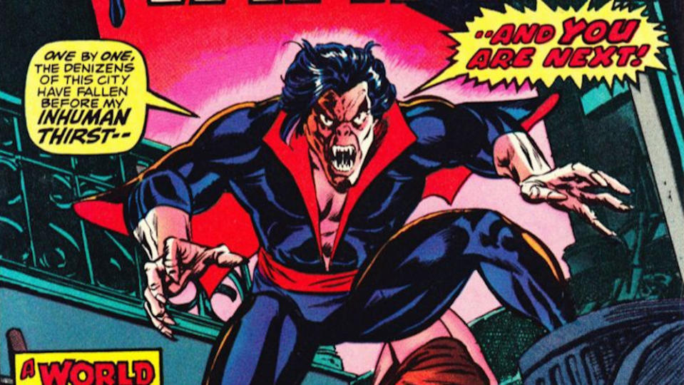 With 'Venom' a box office hit and set to yield a sequel in the near future, it's no surprise that Sony is diversifying its Spiderman-adjacent portfolio. Jared Leto is portraying Morbius the Living Vampire, with Daniel Espinosa directing. (Credit: Marvel)