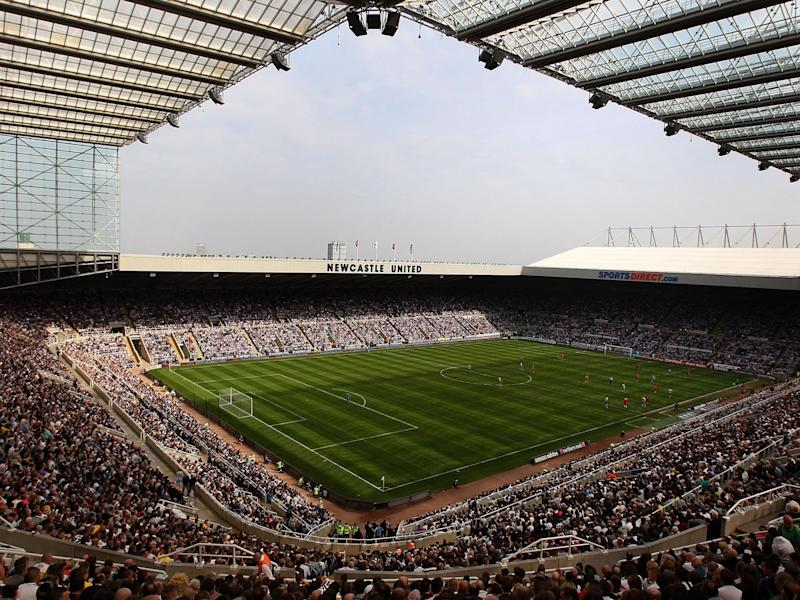 St James' Park is the 52,000-seater home of Newcastle United: Getty
