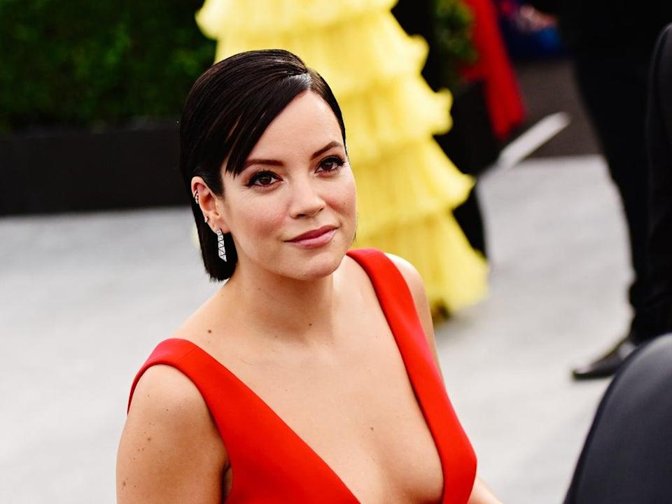 Lily Allen pictured in January 2020 (Getty Images)