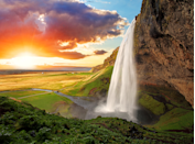 """<p>One of the most famous waterfalls in <a href=""""https://www.purewow.com/travel/things-to-do-in-reykjavik"""" rel=""""nofollow noopener"""" target=""""_blank"""" data-ylk=""""slk:Iceland's"""" class=""""link rapid-noclick-resp"""">Iceland's</a> south region, Seljalandsfoss is a must-visit stop on any drive along the ring road.</p>"""