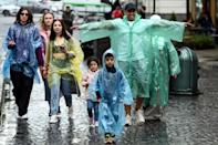 Trees and rain are a big draw for tourists coming from arid conditions (AFP/Sergei GAPON)