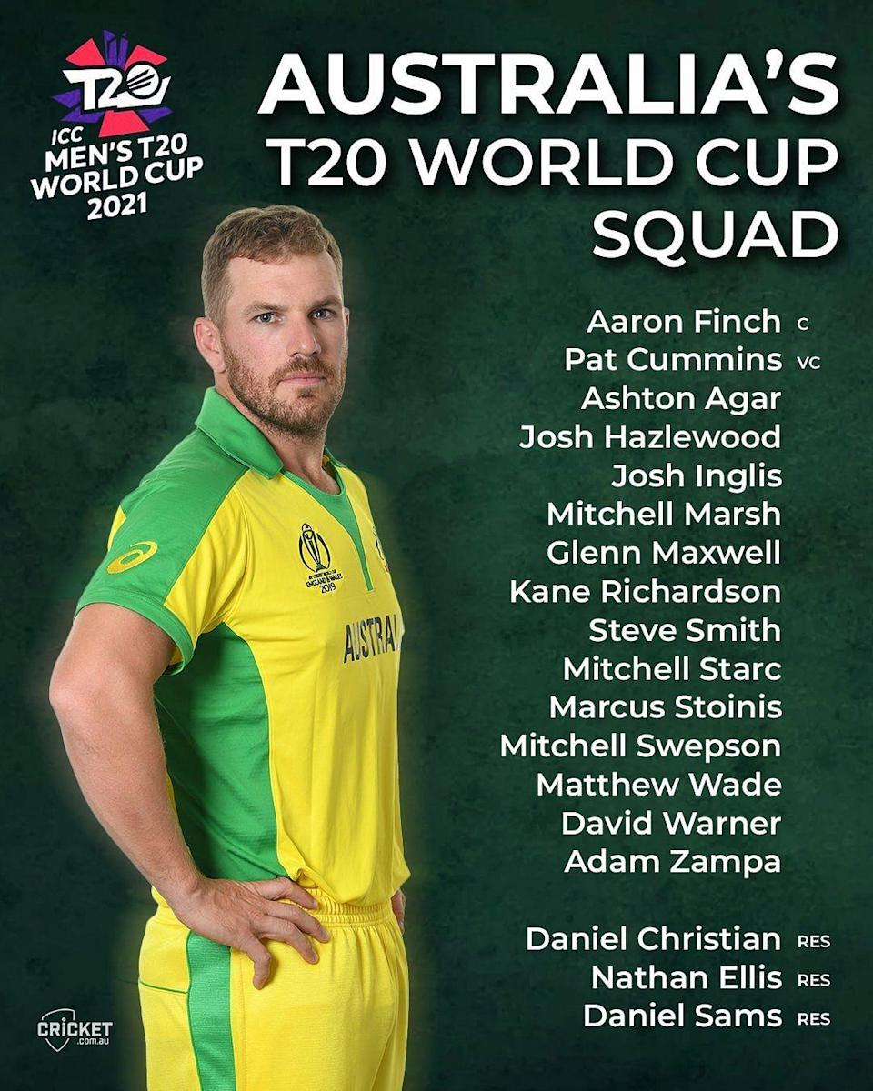 T20 World Cup 2021,