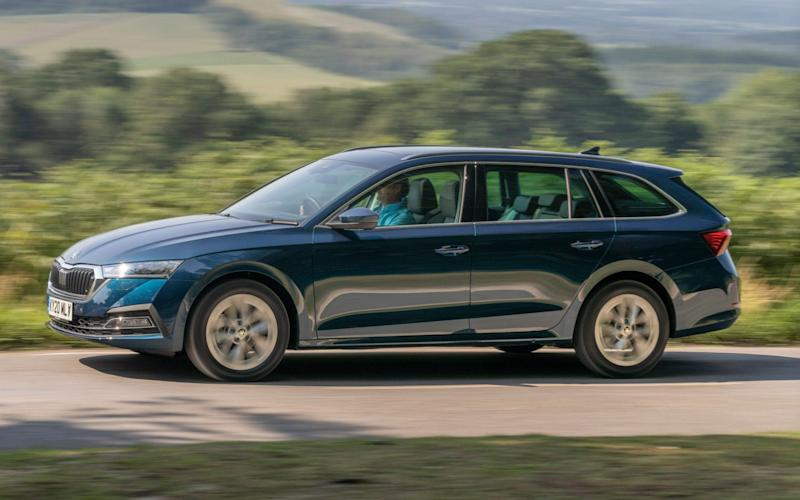 2020 Skoda Octavia SE L First Edition estate - Andrew Crowley