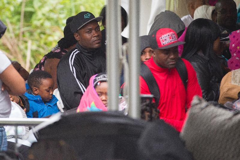 More than 90 percent of claims by Haitian nationals, who represented the bulk of arrivals, were rejected