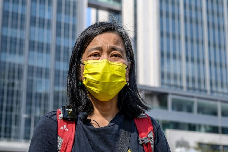 After 45 years together, veteran democracy campaigner Chan Po-ying married her husband - partly for greater prison and court visitation rights should one of them be detained in Beijing's crackdown on Hong Kong