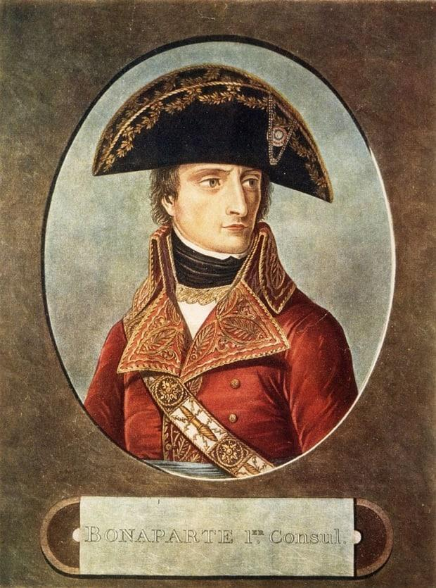 For many in France, Napoleon Bonaparte, who died on May 5, 1821, is the epitome of French achievement, the man who conquered much of Europe but also remade the structures of his country.  (Hulton Archive/Getty Images - image credit)