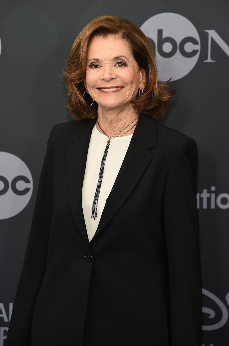 Jessica Walter attends the ABC Walt Disney Television Upfront on May 14, 2019 in New York City.