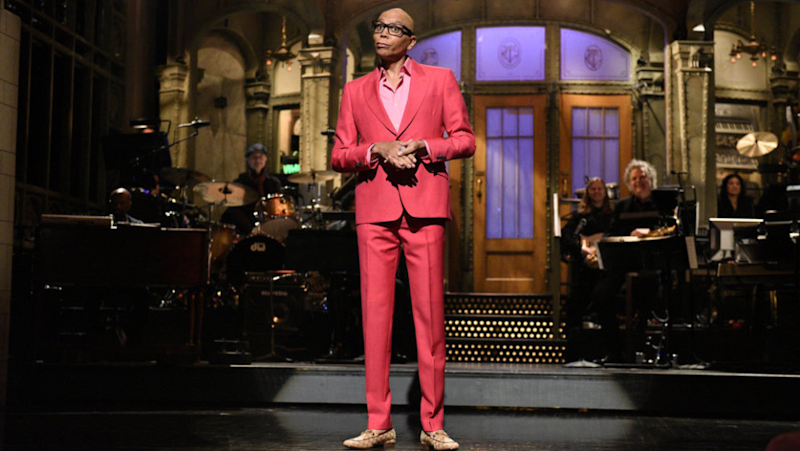 RuPaul Made Herstory as the 1st Drag Queen to Host 'SNL' & Here's Why That Matters