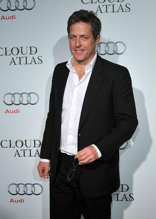 Hugh Grant landed fifth in the poll carried out by Austin Reed to launch their charitable Suite Swap.