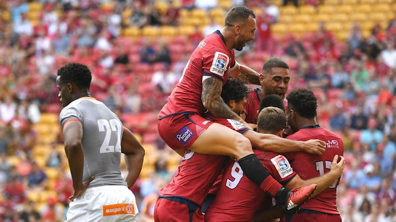 Reds overcome Kings in Super Rugby