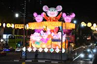 Chinatown lights up for the Year of the Rat. (PHOTOS: Kreta Ayer – Kim Seng Citizens' Consultative Committee)