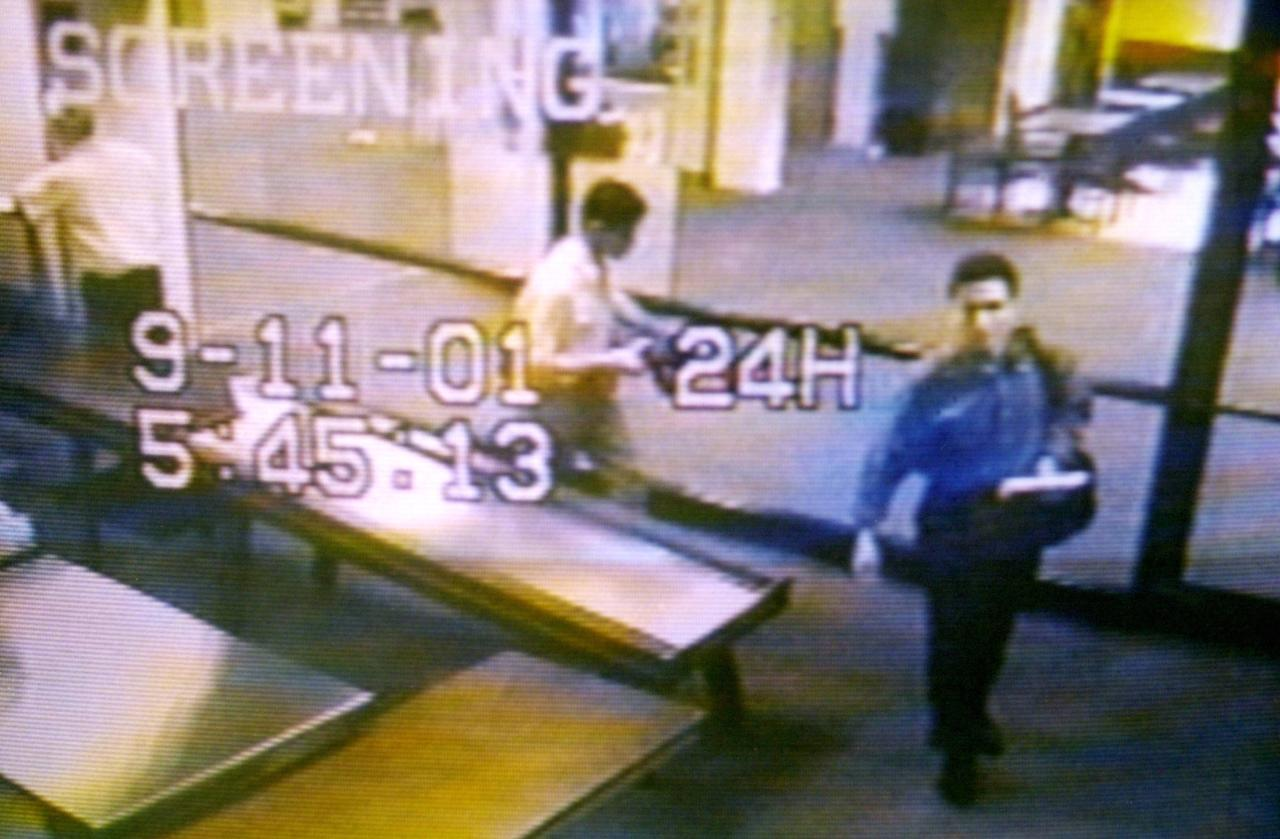 How come none of the 19 terrorist's names appeared on the original passenger lists released by both United Airlines and American Airlines?<br><br>Photo: Two men identified by authorities as suspected hijackers Mohammed Atta (R) and Abdulaziz Alomari (C) pass through airport security September 11, 2001 at Portland International Jetport in Maine in an image from airport surveillance tape released September 19, 2001. Authorities say the two men took a commuter flight to Boston before boarding American Airlines Flight 11, which was one of four jetliners hijacked on September 11 and one of two which were crashed into New York's World Trade Center. (CREDIT REUTERS/PORTLAND POLICE DEPARTMENT-Handout)