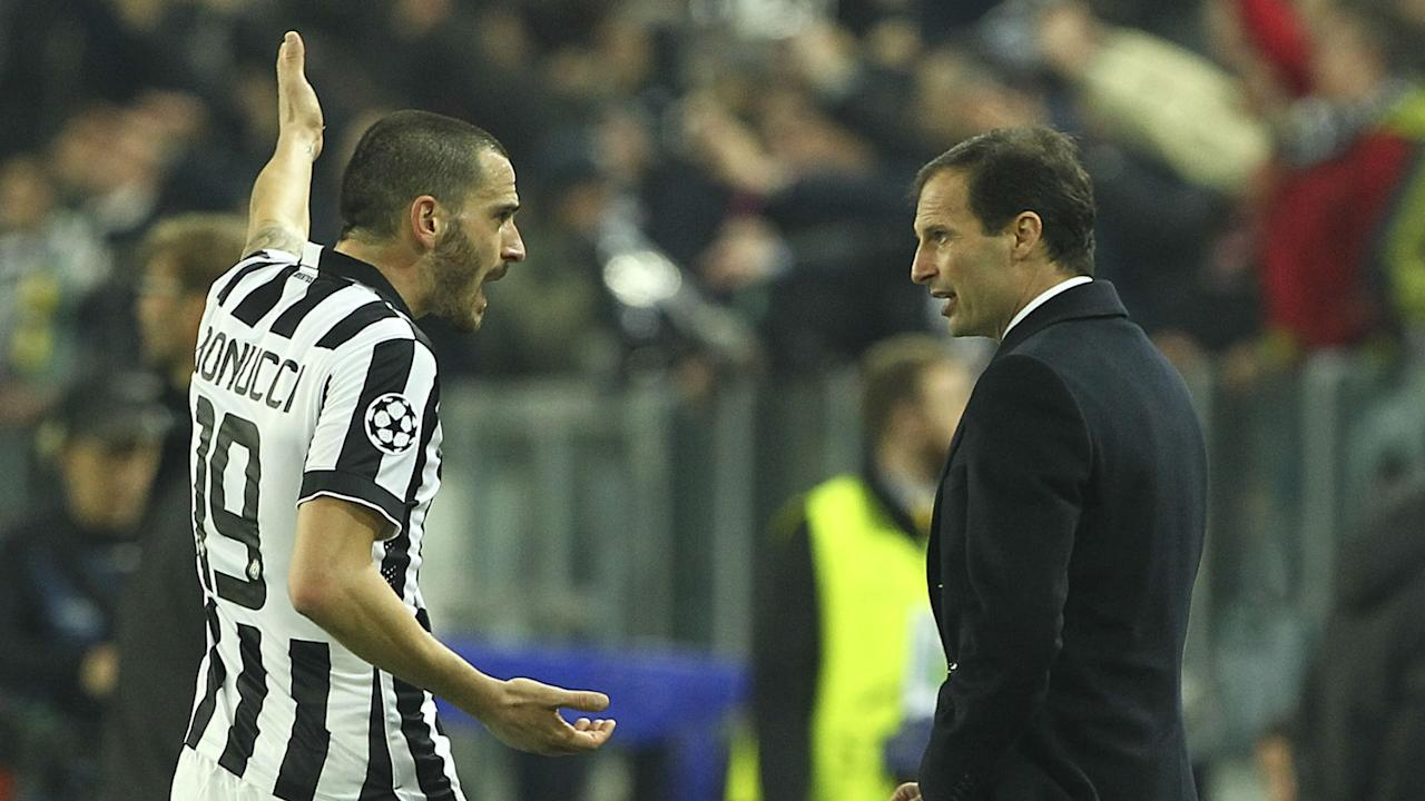 The Italy international defender has been heavily linked with a move to Stamford Bridge, but Massimiliano Allegri is expecting him to stay in Turin