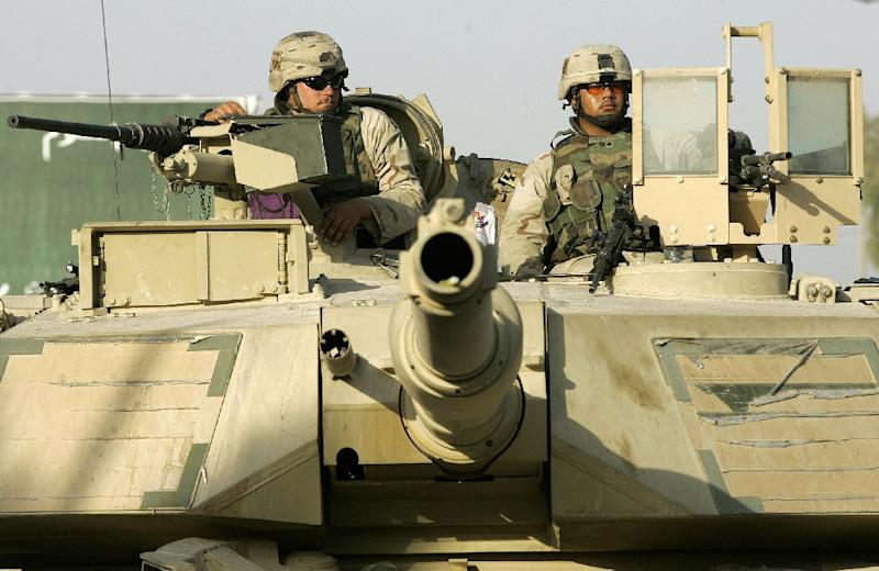 US has delivered Abrams tanks to the three Baltic states, which joined NATO in 2004