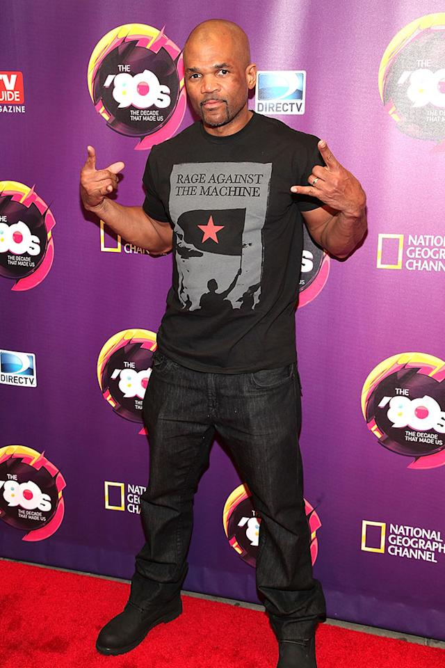 "Darryl ""DMC"" McDaniels attends Nat Geo's ""The '80s: The Decade That Made Us"" New York Premiere at Culture Club on April 9, 2013 in New York City."