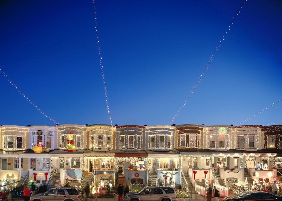 <p>If you need some exercise after all that Christmas indulgence, you could put on your walking shoes and check out all the light displays your neighbors have painstakingly arranged. It'll be an aesthetically pleasing way to burn some calories this season.</p>