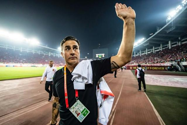The 46-year-old Cannavaro is under fierce pressure to deliver the domestic title (AFP Photo/STR)