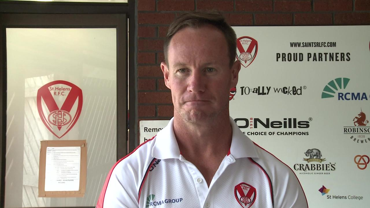 St Helens coach Justin Holbrook previews his side's super 8's visit to Leeds Rhinos in the Betfred Superleague